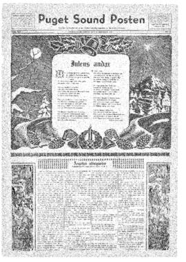 Puget Sound Posten- v.40 no.52 Dec 25, 1931