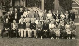 The Mooring Mast staff, 1935