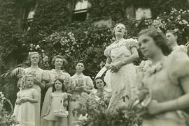 Louise Taylor speaking at 1938 May Festival