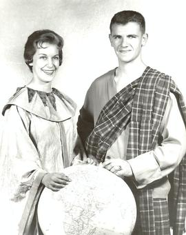 Homecoming chairpersons, 1960