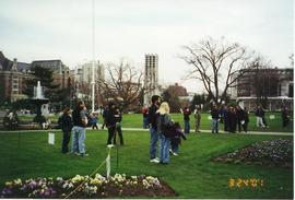 Park stop, Wind Ensemble Tour 2001