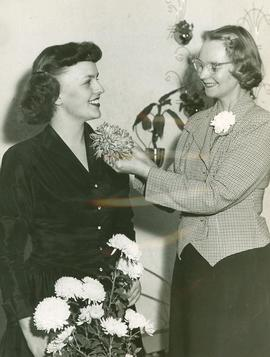 Helena Littan and Stella Jacobs, 1950