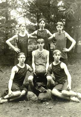 PLA junior basketball team, 1907