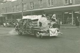 Homecoming parade in Parkland, 1948
