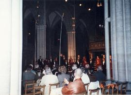 Church perfomance, Choir of the West Norway and Sweden Tour 2001