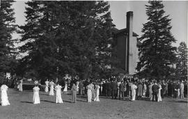 Library Groundbreaking and 1937 May Festival