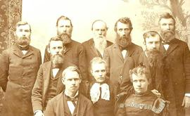 First Faculty 1894 (sepia)