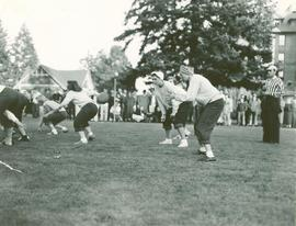 Powderpuff football game, 1947