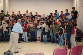 Choir of the West rehearsal, 2007