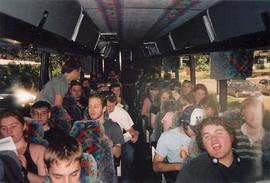 Tour bus, Wind and Jazz Ensembles' tour 2005
