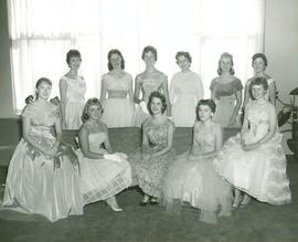 Homecoming Royalty Candidates, 1959