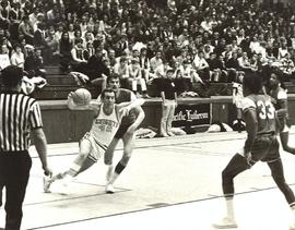 Basketball game, 1965