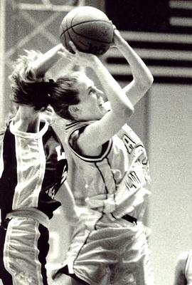 Women's basketball game, 1996