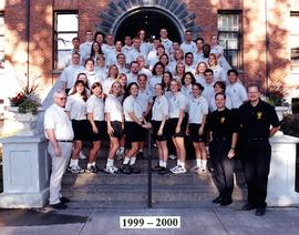 Campus Safety officers group photo, 1999