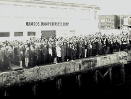 Choir of the West 1963 Tour, Namsos dock