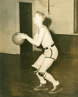 Basketball player, 1940s