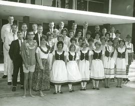 Dancers at May Festival 1964