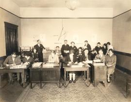 The Mooring Mast staff (in office)
