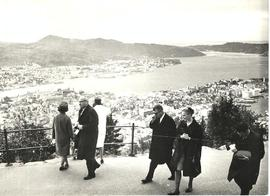 President Mortvedt's Norway trip, above the sea