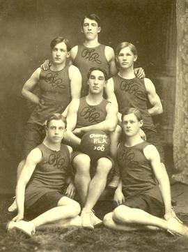 PLA basketball team, 1906