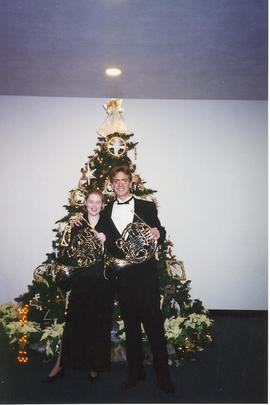 Brass players, Christmas Concert 2002