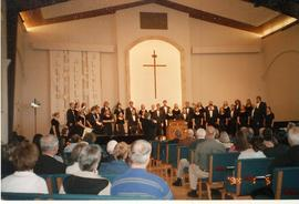 Performance, University Chorale tour 2004