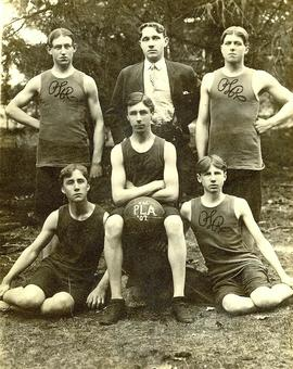 PLA basketball team (outdoors), 1907