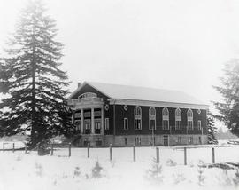 Gymnasium in the snow