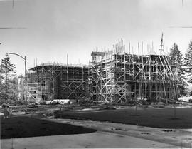 Chapel-Music -Speech building construction, 1950-1951
