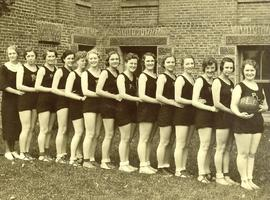 PLC women's basketball team, 1933