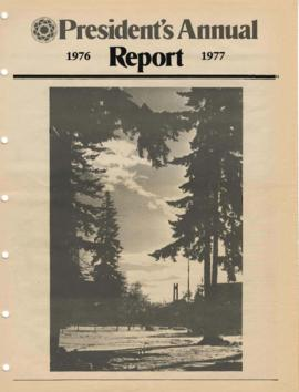 1976-1977 Presidents Annual Report