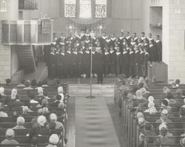 Choir of the West 1963 Tour, church performance