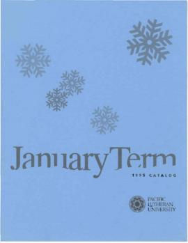 1995 January Term Catalog