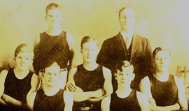 PLA basketball team, 1914