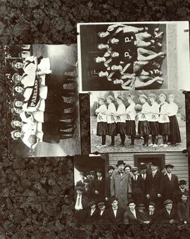PLA basketball collage