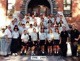 Campus Safety officers group photo, 1998