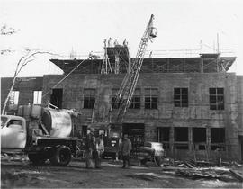 Chapel-Music-Speech Building construction