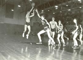 Basketball game, 1951