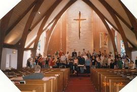 Choir of the West practice, 2004