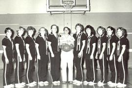 Women's Basketball Team 1981