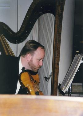 Violinist, University Symphony Orchestra Germany tour 2000