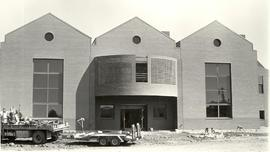 Construction of Rieke Science Center