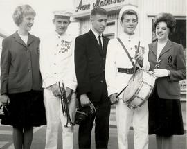 Choir of the West 1963 Tour with Boys' Band