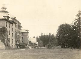 Old Main and Chapel (side view)