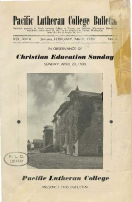 1939 January-March Bulletin