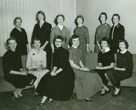 Homecoming Queen Candidates 1956
