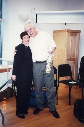 Music Department reception 2001