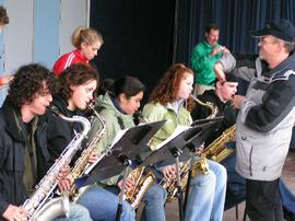 Performance, Wind and Jazz Ensembles' tour 2005