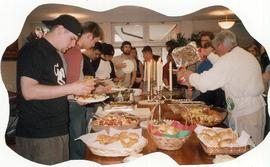 Choir of the West meal, 2004