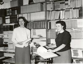 Student Union Bookstore workers, 1950